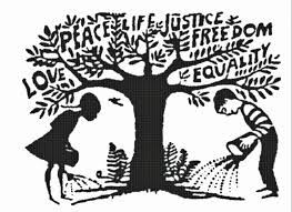 cultivating tree of love and justice