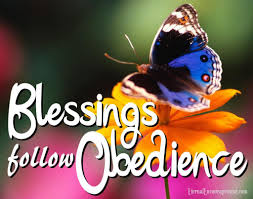 obedience blessings