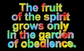 obedience fruit of the spirit