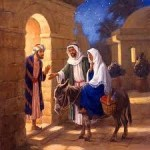 joseph mary at the inn