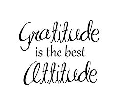 gratitude attitude