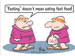 fasting fast food