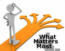 life what matters most