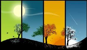 change of seasons