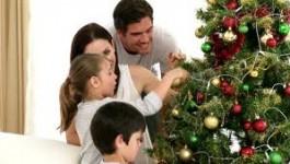 christmas tree w family