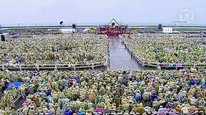 tacloban mass w pope