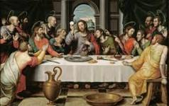 eucharist last supper