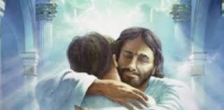 jesus embraces us