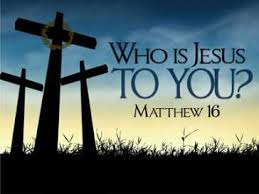 jesus who is he to you