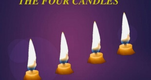 candles four-large
