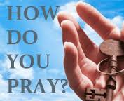 prayer how do you