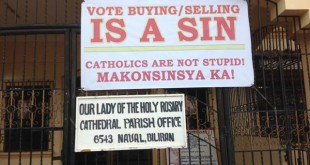 vote buying poster L
