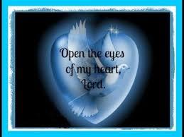 holy spirit open eyes of heart