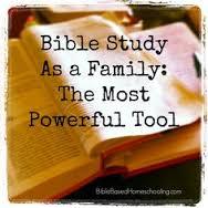 bible study as family
