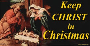 christmas keep christ in