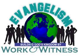 evangelism work and witness