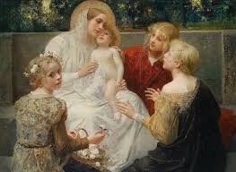 mary and children