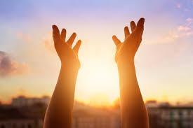 gods mercy hands receiving