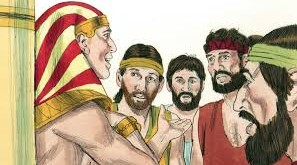 joseph and brothers in eqypt