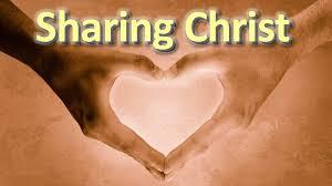 sharing christ