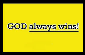 god always wins