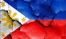 philippine flag broken
